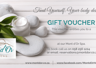 Mont d'Or Spa Voucher