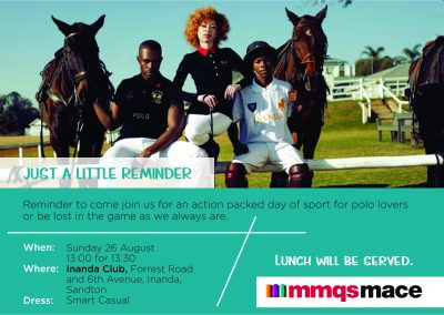 Polo Reminder 26 August